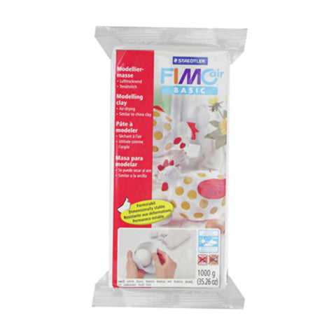 Fimo Air Drying Clay White