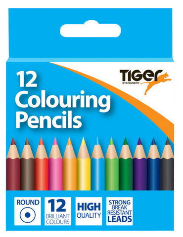 Half Length Colouring Pencils Box 12