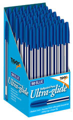 Ball Point Pens Box 50 Blue