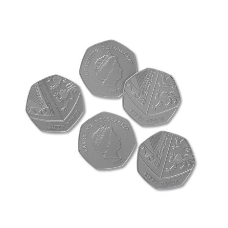 Play Money - Fifty Pence Pieces