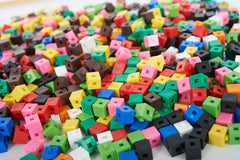 1cm Interlocking Counting Cubes