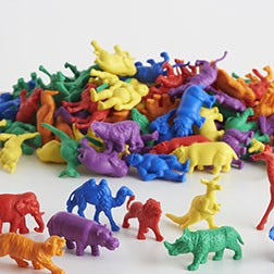 Wild Animals Counters -