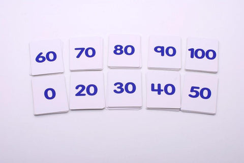 Playing Cards Numbers 0-100 (Wipe clean)
