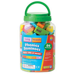 Phonics & Word Building Dominoes - Long Vowels