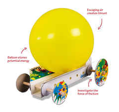 Balloon Power Dragster