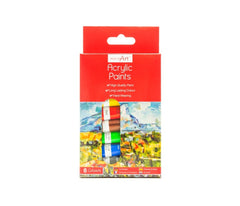 Acrylic Paint Set 6ml Tubes x 8