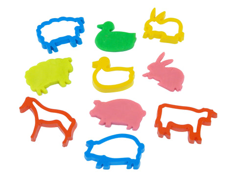 Chunky Animal Cutters (6)
