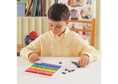 Rainbow Fraction® Tiles with Tray