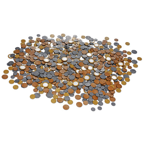 Pound Sterling Play Money (Set of 700 coins)