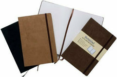 A5 Luxury Notables Plain Notebook