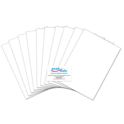 A4 EVA Funky Foam Sheet White