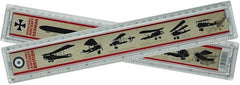 World War I Aircraft Identification Ruler - 30cm