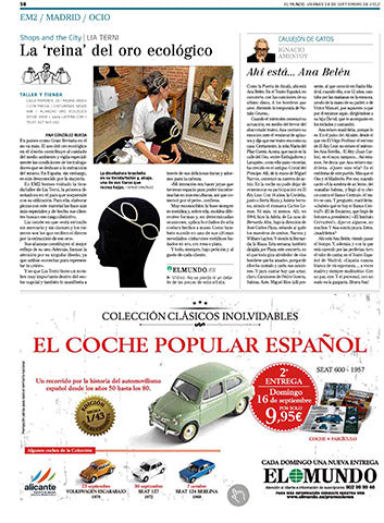fair trade jewelry miami - El Mundo - 14/09/2012