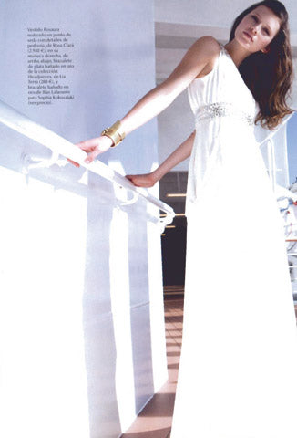 wedding headpieces and veils Miami - Vogue Novias - verano/2010