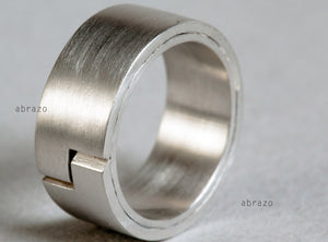Two-Layer Wedding Ring
