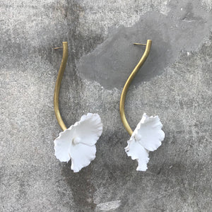 Wedding Pensamiento Earrings