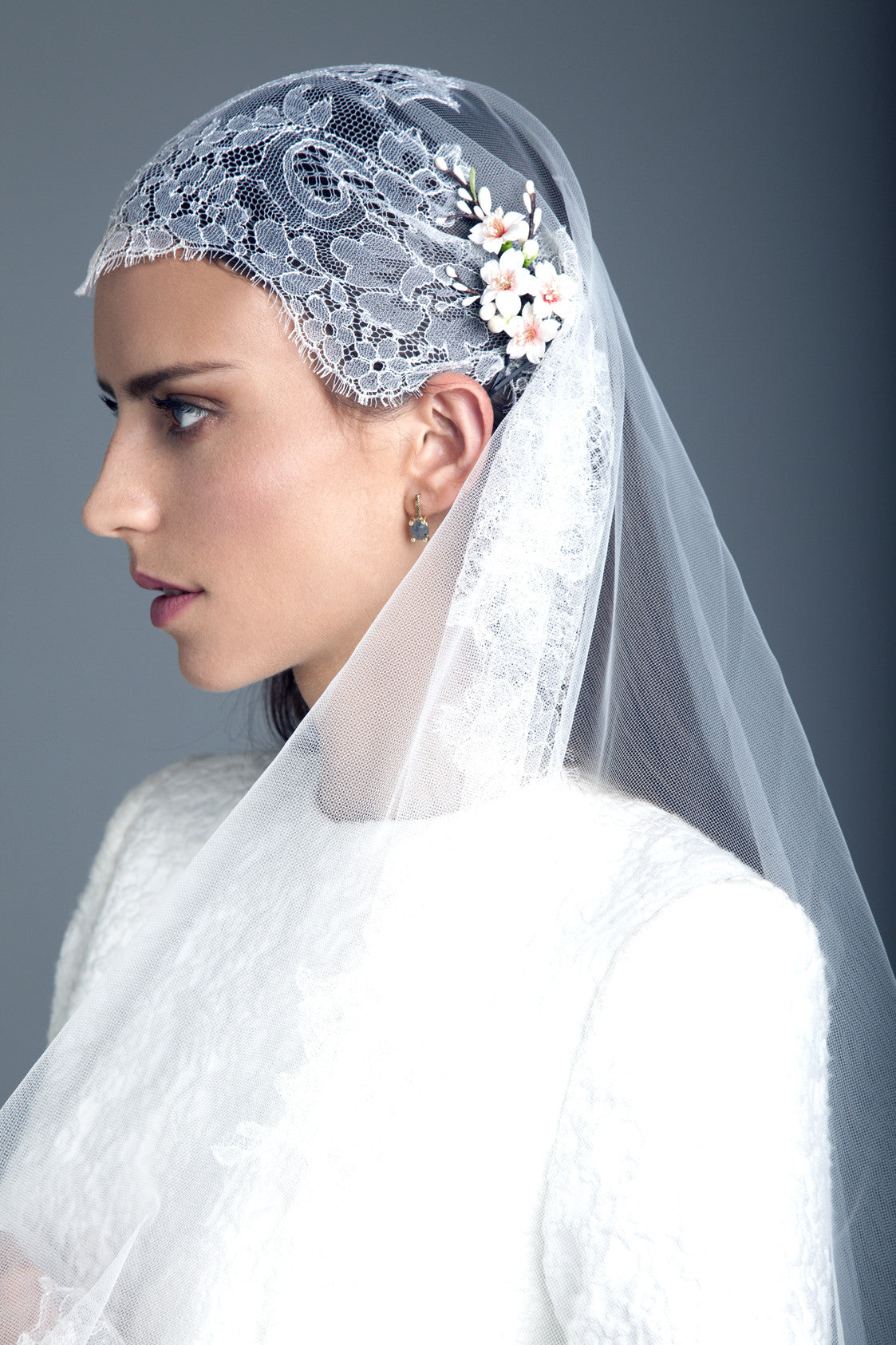 Wedding Veil and Hairpiece