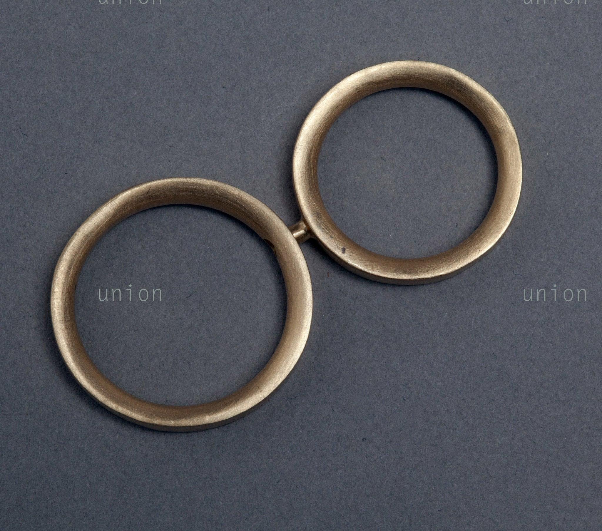Union wedding rings