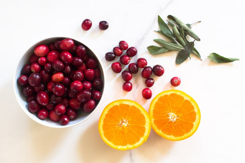 Cranberry Relish with Orange and Sage