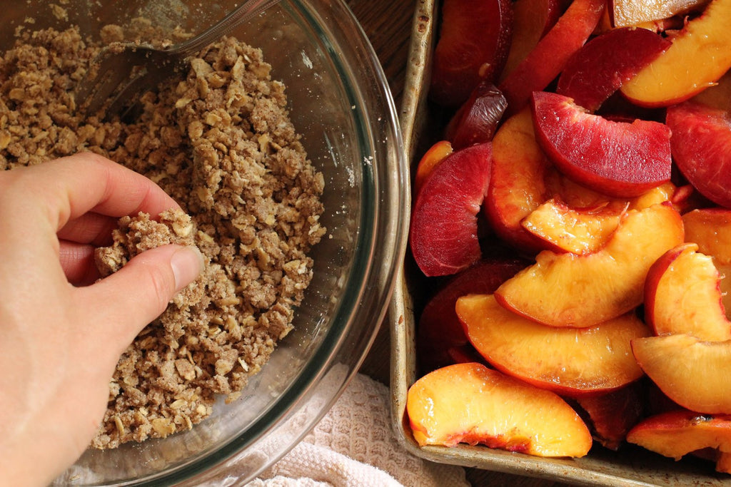 Stone Fruit Crumble