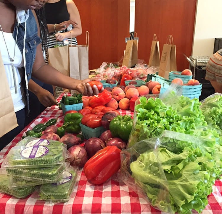 Pop - Up Markets and Reducing Food Waste