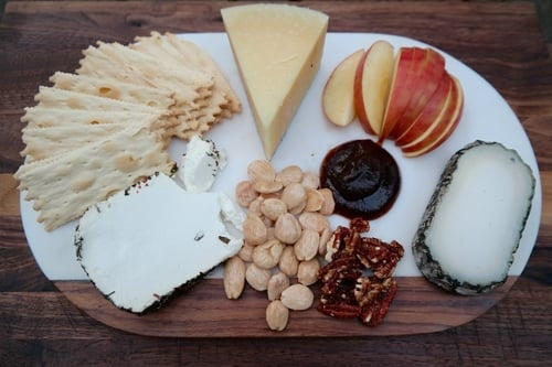 Building the perfect cheese plate