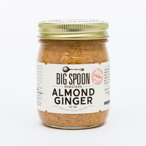 Almond Ginger Nut Butter