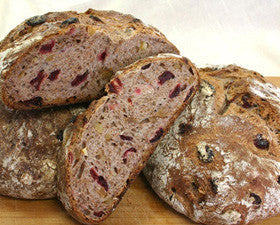 Cranberry Walnut Boule