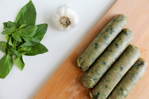 Chicken Basil Sausage
