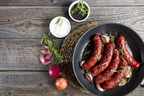 Lamb and Beef Merguez