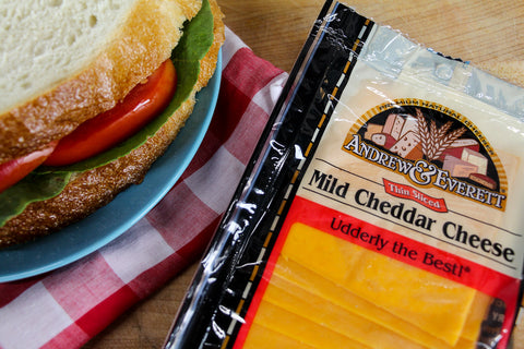 Sliced Mild Cheddar Cheese