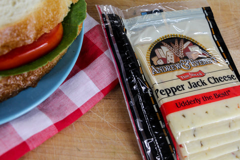 Sliced Pepper Jack Cheese