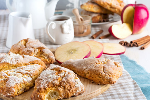 Apple Walnut Scone