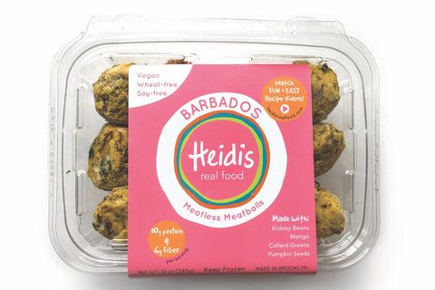 Barbados Meatless Meatballs