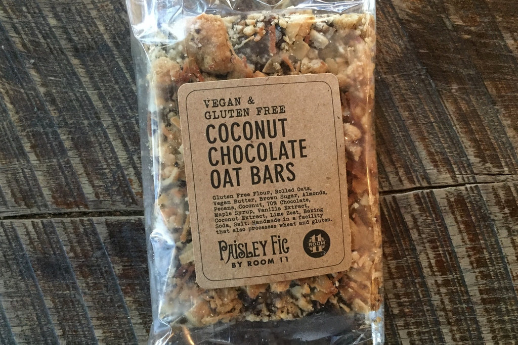 Coconut Chocolate Oat Bar