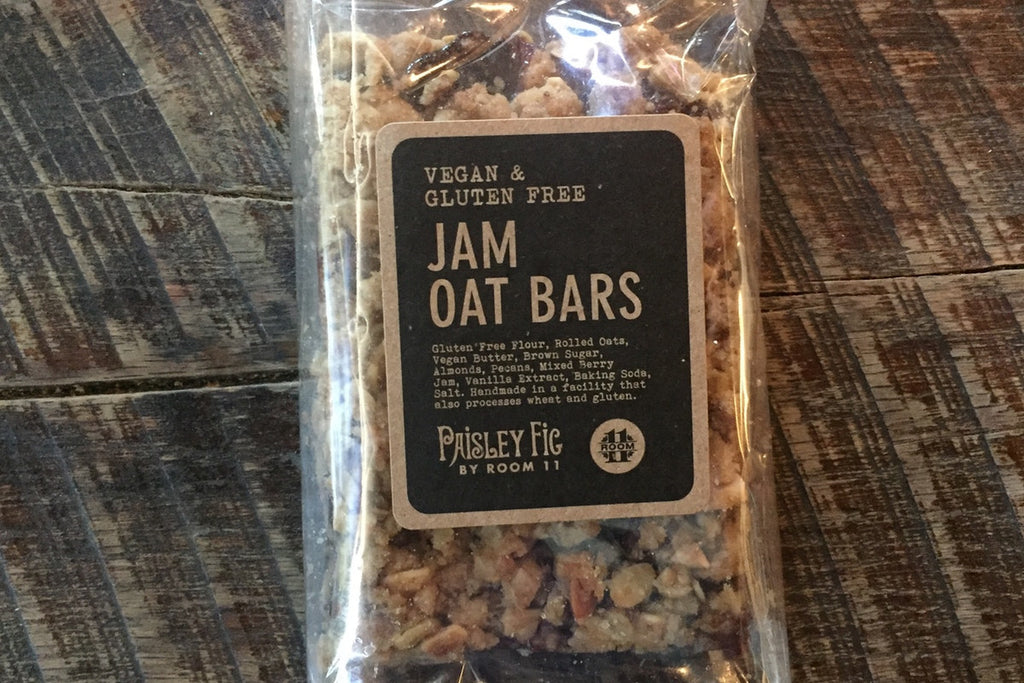 Mixed Berry Jam Oat Bar