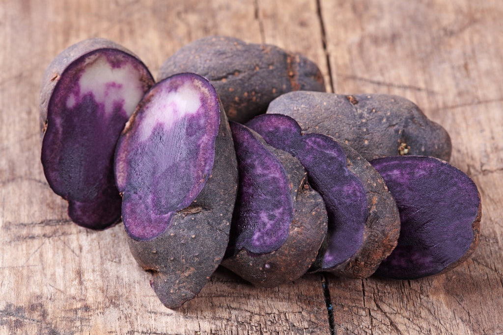 Purple Peruvian Fingerling Potatoes