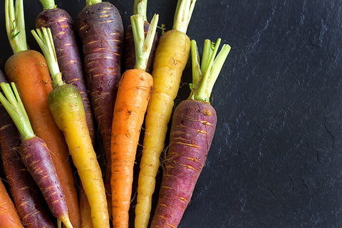Loose Rainbow Carrots