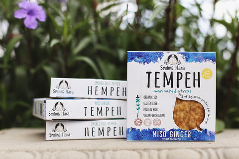 Miso Ginger Tempeh