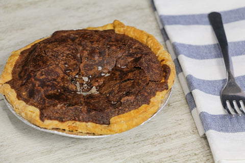 Sea Salt Chocolate Chess Pie