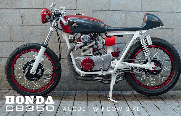 1971 Honda CB350 Window Bike