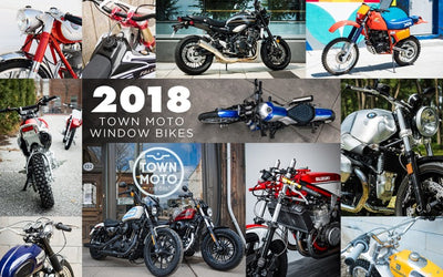 Town Moto 2018 Window Bikes Recap