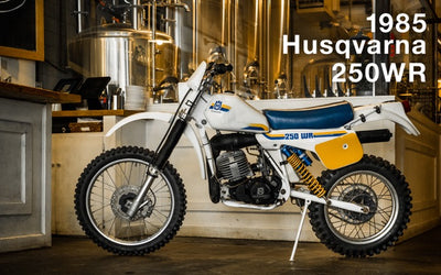 1983 Husqvarna 250WR | February 2019 Window Bike