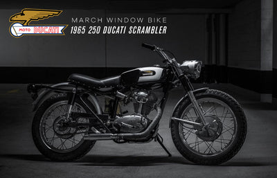 1965 Ducati 250 Scrambler | March 2019 Window Bike