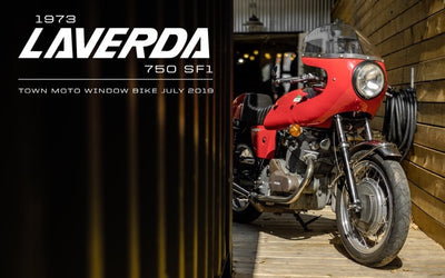 1973 Laverda 750 SF1 | July 2019 Window Bike