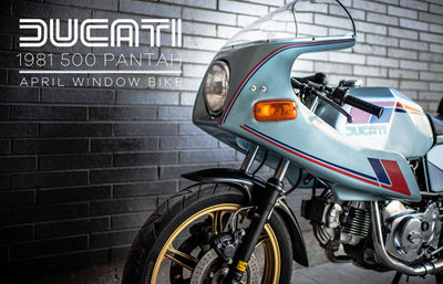 1981 Ducati 500 Pantah | April 2019 Window Bike