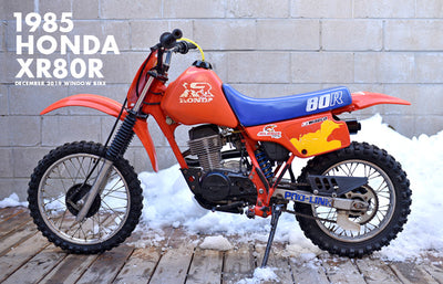 1985 Honda XR80R | December 2019 Window Bike