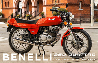 1981 Benelli 250 Quattro | January 2020 Window Bike