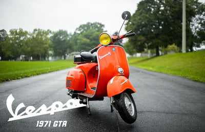 1971 Vespa GTR | October 2019 Window Bike