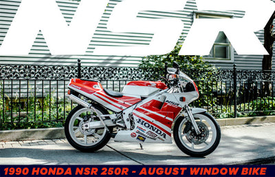 1990 Honda NSR 250R | August 2019 Window Bike